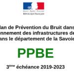 """Projet de """"Plan de Prévention du Bruit dans l'Environnement en Savoie"""""""
