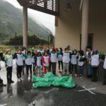 Les enfants de l'école de Centron ont participé à la journée « Nettoyons la nature »