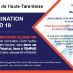 Centre de vaccination contre la Covid-19 à Bourg St Maurice