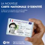 Nouvelle carte nationale d'identité biométrique et passeport
